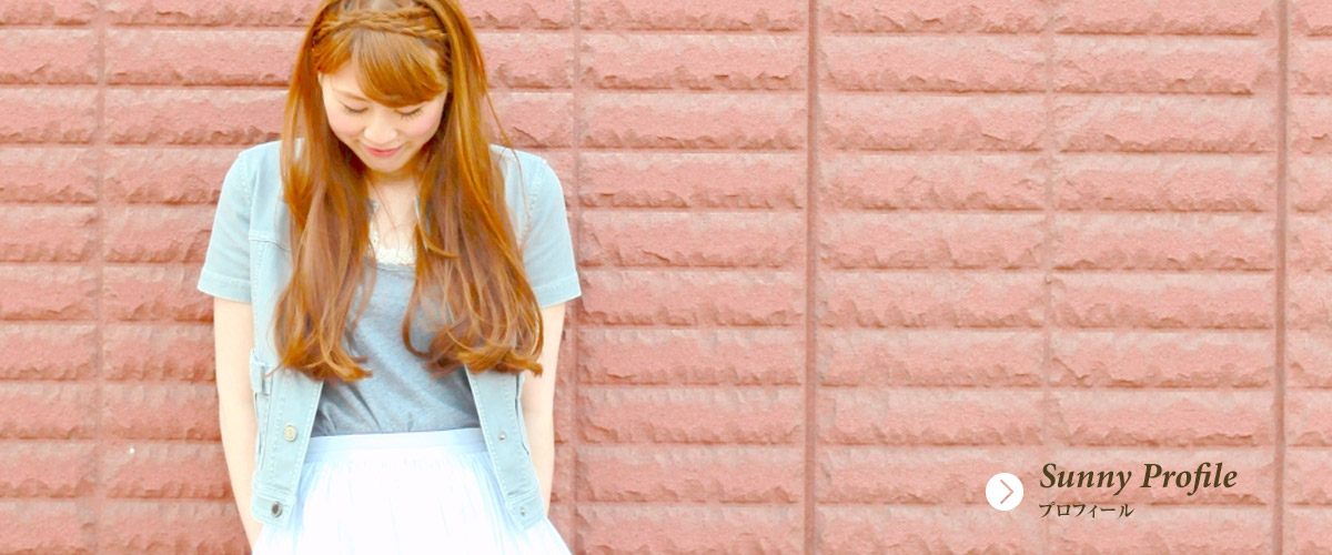 Singer Sunny プロフィール profile